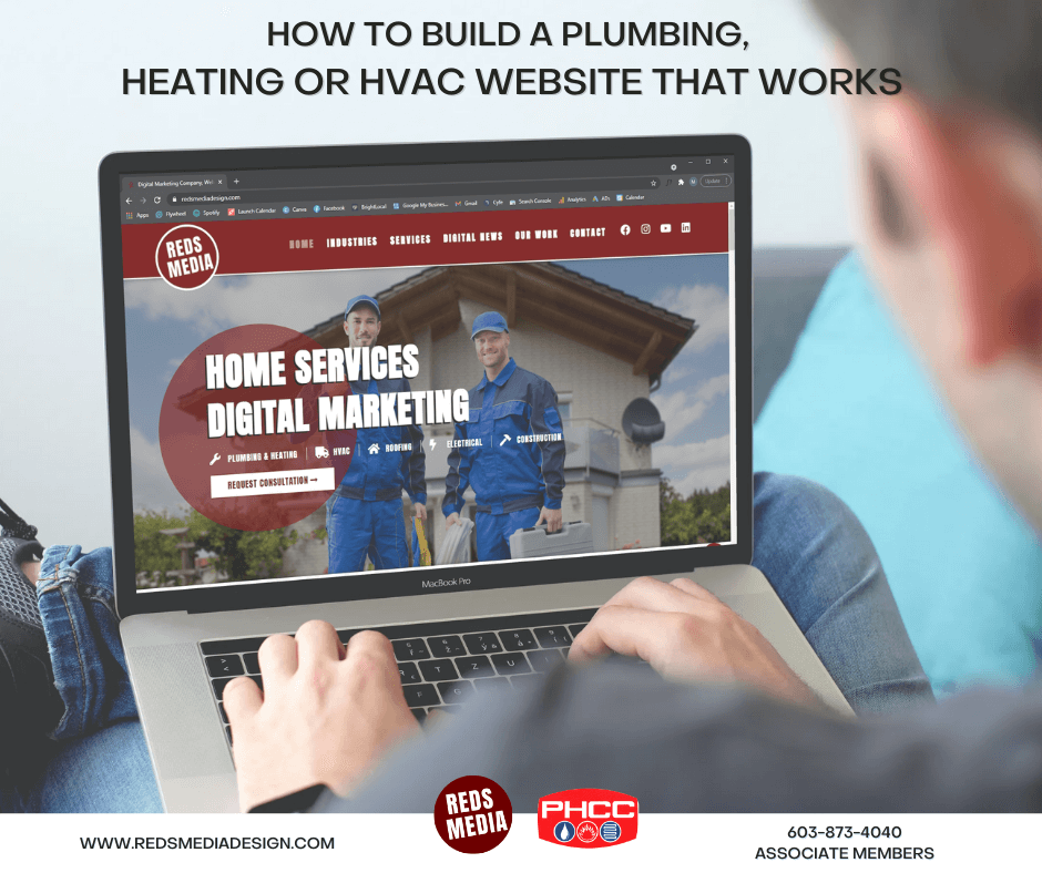 Build a Plumbing Heating or HVAC Website